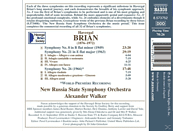New Russia State Symphony Orchestra - Sinfonien 8,21,26 [CD]