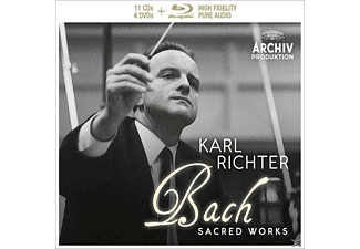Münchener Bach-orchestra - Bach-Sacred Works (Ltd.Edt.) - (CD + DVD Video)