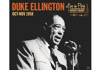 Duke Ellington - Live In Paris-Octobre-Novembre 1958 - (CD)