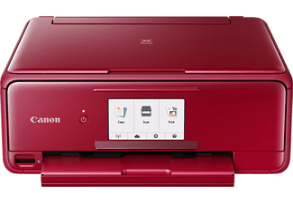 CANON PIXMA TS8152, 3-in-1 Multifunktionsdrucker, Rot