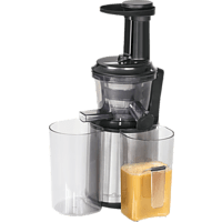 PROFI COOK PC-SJ 1141 Slow Juicer 150 Watt Schwarz/Inox