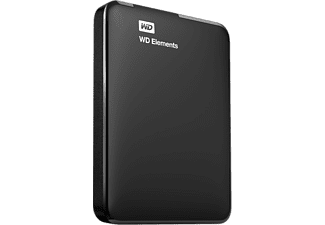 WESTERN DIGITAL Disque dur externe Elements portable USB 3.0 500 GB (WDBUZG5000ABK-WESN)