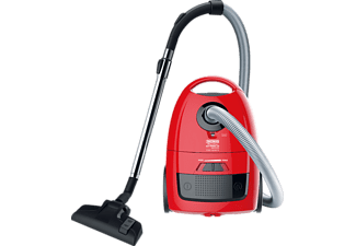 THOMAS Eco Power 2.0 Staubsauger mit Beutel, EEK: A, Rot