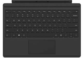 MICROSOFT Surface Pro Type Cover Zwart
