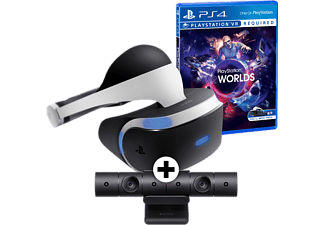 SONY PlayStation VR + Camera V2+ Worlds VR