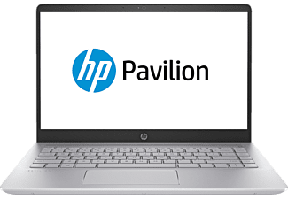 HP Pavilion 14-bf130ng, Notebook mit 14 Zoll Display, Core™ i7 Prozessor, 8 GB RAM, 256 GB SSD, GeForce® 940MX, Silber