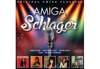 VARIOUS - AMIGA Schlager - (CD)
