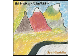 Bill Mackay & Riley Walker - SpiderBeetleBee - (CD)