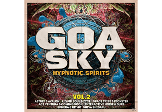 VARIOUS - Goa Sky Vol.2-Hypnotic Spirits - (CD)