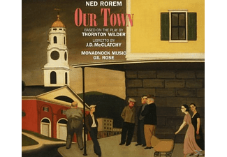 DiBattista/Rood/Buckley/Wilkinson/River/Kravitz/+ - Our Town - (CD)