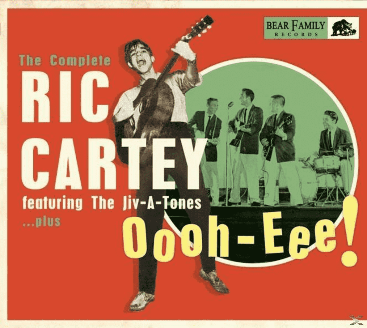 Oooh-Eee-The Complete Rick Cartey Featuring The Ric Cartey auf CD
