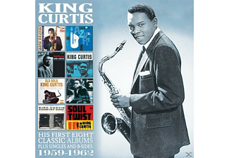 King Curtis - His First Eight Classic Albums: 1959-1962 - (CD)