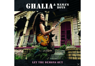 Ghalia & Mama's Boys - Let The Demons Out - (CD)