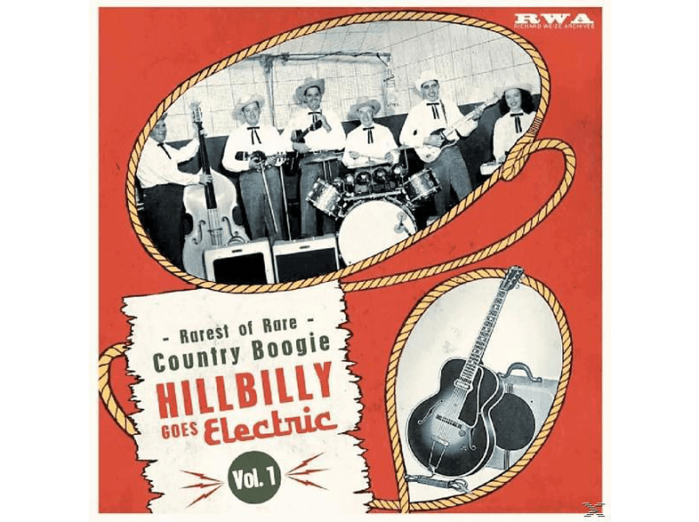 VARIOUS - Hillbilly Goes Electric Vol.1 [Vinyl]