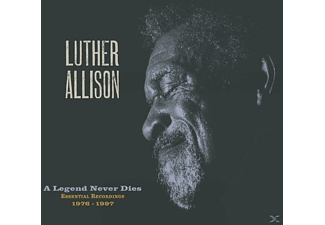 Luther Allison - A Legend Never Dies (Essential Recordings 1976-1 - (CD + DVD Video)
