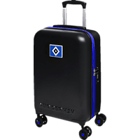 MARKENMERCH Hamburger SV Trolley, Schwarz