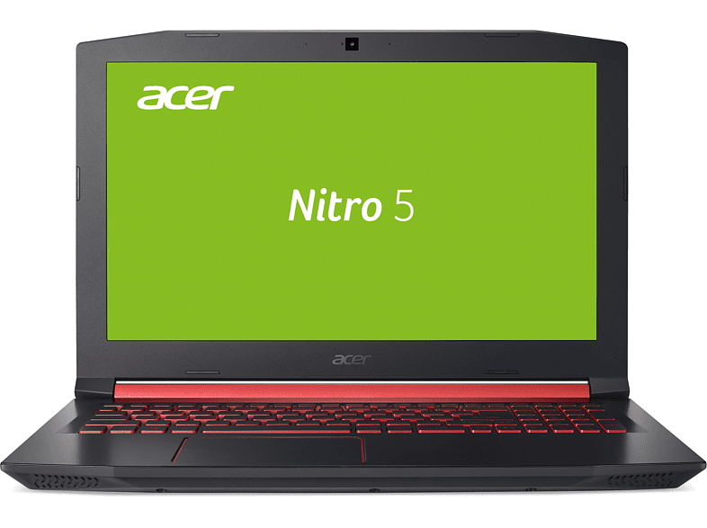 ACER Nitro 5 (AN515-41-F1XF), Gaming-Notebook, Gaming Notebook, Quad-Core Prozessor, 8 GB RAM, 1 TB HDD, Radeon™ RX 550, Schwarz/Rot
