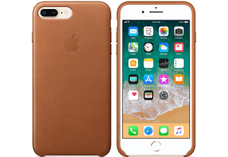 APPLE Θήκη iPhone 8 Plus / 7 Plus Leather Taupe