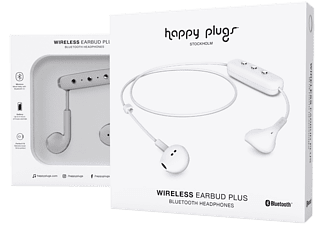 HAPPY PLUGS Earbud Wireless Plus - Vit