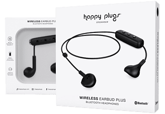 HAPPY PLUGS Earbud Wireless Plus - Svart In-Ear hörlurar - Köp på  MediaMarkt.se b916942b6d65f