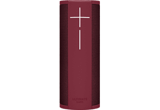ULTIMATE EARS Megablast, Smart Speaker mit Sprachsteuerung, Wasserfest, Rot