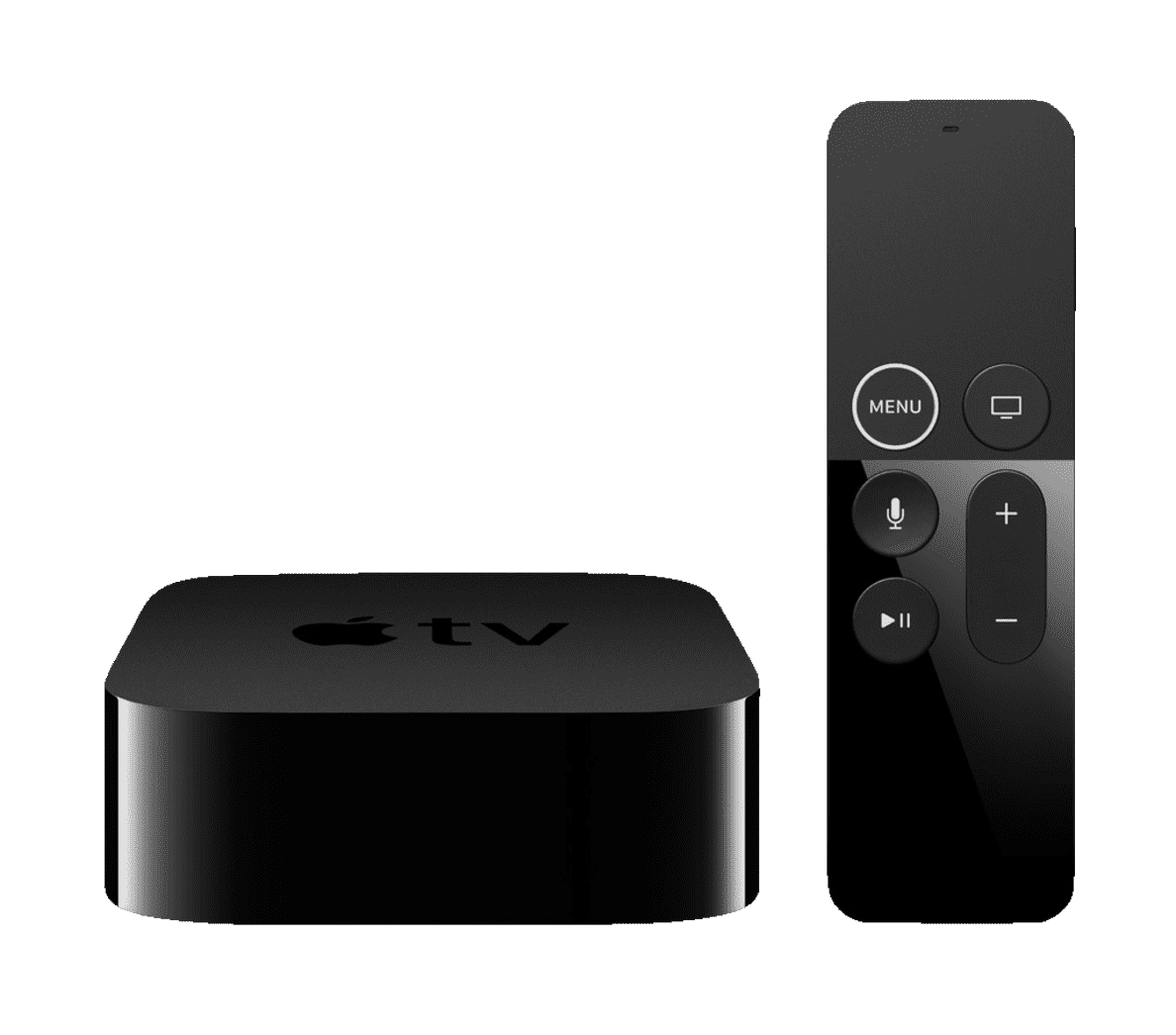 APPLE TV 4K MQD22FD/A Multimediaplayer Schwarz