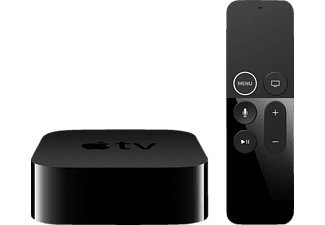 APPLE TV (4TH GEN.) MR912FD/A Multimediaplayer Schwarz