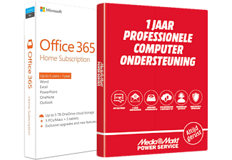 Office 365 Home (FR/NL/UK) + Un an d'assistance informatique professionnelle