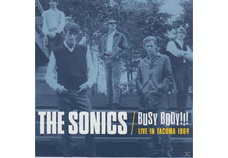 Sonics - Busy Body!!! Live In Tacoma 1964 - (CD)