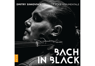 Dmitry Sinkowsky, La Voce Strumentale - Bach In Black - (CD)