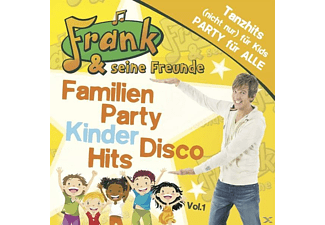 Frank & Seine Freunde - Familien Party Kinder Disco Hits - (CD)