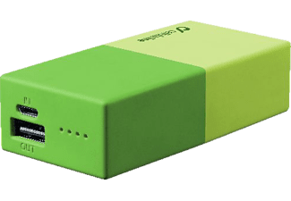 CELLULAR LINE CELLULARLINE Powerbank, FREE POWER SMART 5.000 mAh, grün, Powerbank, 5.000mAh, Grün