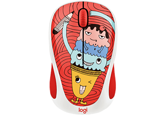 LOGITECH Draadloze muis M238 Doodle Collection Triple Scoop