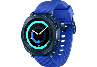 "Smartwatch - Samsung Gear Sport, Gorilla Glass, Super Amoled 1,2"" Bluetooth 4.2, Azul"