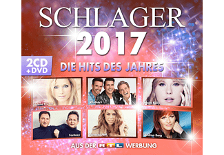 VARIOUS - Schlager 2017 - (CD + DVD Video)