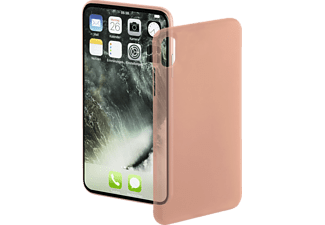 HAMA Ultra Slim Handyhülle, Rosegold, passend für Apple iPhone X