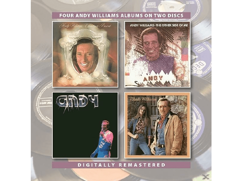 Andy Williams - Christmas Present/Other Side Of Me/Andy [CD]