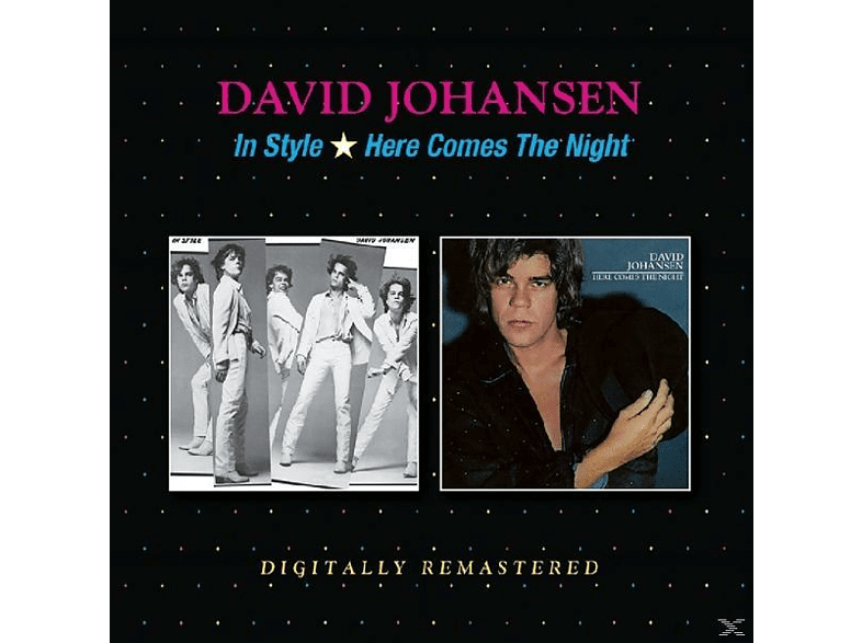 David Johansen - In Style/Here Comes The Night [CD]
