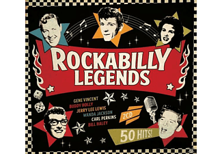 VARIOUS - Rockabilly Legends - (CD)