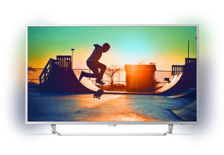 PHILIPS 55PUS6412/12, 139 cm (55 Zoll), UHD 4K, SMART TV, LED TV, 900 PPI, Ambilight 2-seitig, DVB-T2 HD, DVB-C, DVB-S, DVB-S2