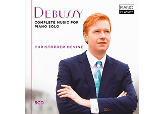 Christopher Devine - Debussy-Complete Music For Piano Solo - (CD)