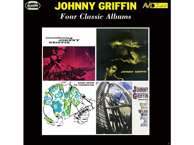 Johnny Griffin - Four Classic Albums [CD]