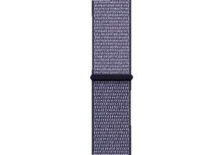 APPLE MQW52ZM/A 38MM MIDNIGHT BLUE SPORT LOOP, Armband, Apple, Watch (38 mm Gehäuse), Mitternachtsblau