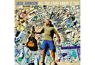 Jack Johnson - All The Light Above It Too CD