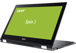 ACER Spin 5 (SP515-51GN-52AF), Convertible mit 15.6 Zoll Display, Core™ i5 Prozessor, 8 GB RAM, 256 GB SSD, 1 TB HDD, GeForce® GTX 1050, Steel Gray
