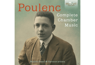 Matteo Fossi - Poulenc-Complete Chamber Music - (CD)