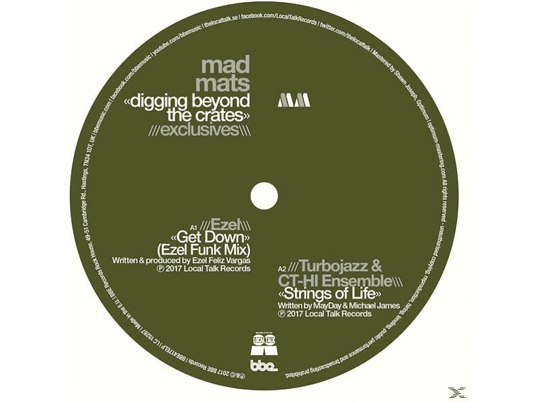 Mad Mats - Digging Beyond The Crates-Exclusives [Vinyl]