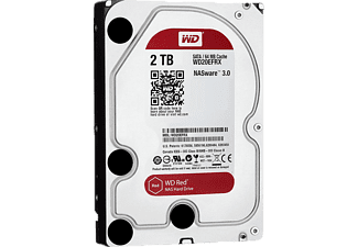 "WD Red 3,5"" SATA III 6Gbit/s IntelliPower 2 TB 64MB Cache NAS 7/24 WD20EFRX"