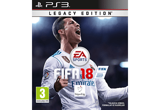 EA Fifa 18 Legacy Edition PS3 Oyun
