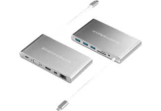 HYPER Hub USB-C HyperDrive Ultimate Silver (GN30SILVER)